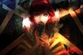 Картинка девушка, свет, тени, микрофон, Transistor