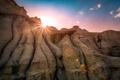 Картинка солнце, природа, скалы, Канада, каньон