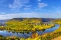 Картинка пейзаж, река, небо, фото, город, Германия, дома