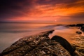 Картинка море, пейзаж, рассвет, Австрия, Asturias