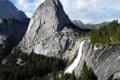 Картинка США, пейзаж, Калифорния, скала, Йеллоустон, водопады, природа