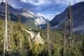 Картинка пейзаж, горы, дорога