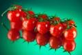 Картинка отражение, красные, помидоры, томаты