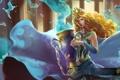 Картинка вода, девушка, блондинка, ваза, Heroes of Newerth, Gravekeeper, Wave Queen Hestia