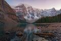 Картинка Moraine Lake, Banff National Park, Dusk