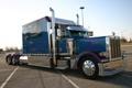 Картинка грузовик, автомобили, trucks, тягач, peterbilt, какбина