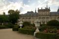 Картинка город, фото, Испания, кусты, дворец, Royal Palace La Granja