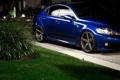 Картинка трава, лексус, Lexus, машина, ночь, куст