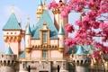 Картинка замок, сказка, Диснейленд