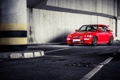 Картинка lady, red, cosworth, ford
