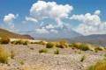 Картинка rock, desert, cloud, mountain, sand, chile, atacama