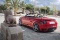 Картинка красный, Audi, ауди, red, кабриолет, cabrio