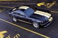 Картинка чёрный, Mustang, ford