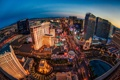 Картинка Невада, здания, ночной город, панорама, Las Vegas, Лас-Вегас, Nevada