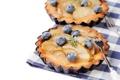 Картинка черника, пирог, яблоки, сладкое, выпечка, шарлотка