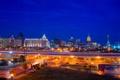 Картинка Сан-Антонио, San Antonio, night, usa, ночь, Техас, Skyline