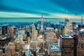 Картинка USA, америка, высота, нью йорк, город, New York City, сша