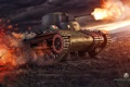 Картинка tank, танк, танки, World of Tanks, Япония, Type 97 Te-Ke, Wargaming.Net