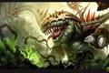 Картинка монстр, растения, Heroes of Newerth, HoN, Bramble
