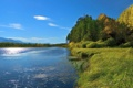 Картинка вода, деревья, природа, берег