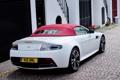 Картинка Aston Martin, Roadster, Vantage, астон мартин, родстер, вид сзади, V12