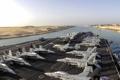Картинка Suez Canal, авианосец, USS Dwight D. Eisenhower, оружие