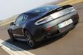 Картинка машина, Aston Martin, скорость, задок, Vantage