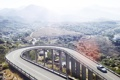 Картинка дорога, Concept, мост, вид, Jaguar, C-X16