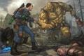Картинка оружие, Fallout 3, 101, Patrick Brown, PatrickBrown, Super Mutant Behemoth