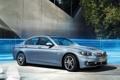 Картинка car, машина, BMW, blue, sedan, ActiveHybrid 5
