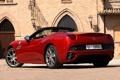 Картинка Феррари, Калифорния, Ferrari, суперкар, вид сзади, California
