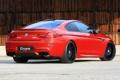 Картинка задок, BMW, БМВ, Coupe, G-Power, красный