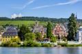 Картинка город, река, фото, дома, Германия, Traben-Trarbach
