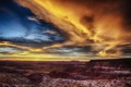 Картинка пейзаж, закат, Arizona, Painted Desert