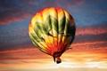 Картинка шар, небо, спорт