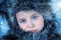 Картинка грусть, снег, портрет, девочка
