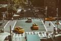 Картинка cars, Manhattan, NYC, New York City, taxi, traffic, Wide angle