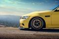 Картинка бмв, передок, Yellow, BMW M3