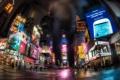 Картинка город, ночь, New York