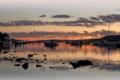 Картинка солнце, пейзаж, закат, Вечер, яхты