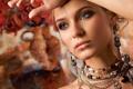 Картинка украшения, серьги, ожерелье