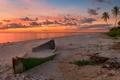 Картинка пляж, закат, флорида