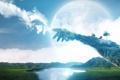 Картинка земля, руки, воздух
