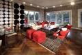 Картинка дизайн, дом, стиль, вилла, интерьер, modern, living room