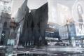 Картинка город, улица, art, deus ex, район, Deus Ex: Mankind Divided, mankind divided