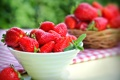 Картинка ягоды, клубника, красные, миска, fresh, спелая, strawberry