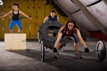 Картинка group, workout, crossfit