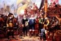 Картинка масло, картина, холст, датский живописец, Вильгельм Marstrand