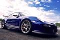 Картинка небо, Porsche, GT3, 911