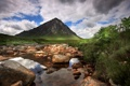 Картинка река, камни, гора